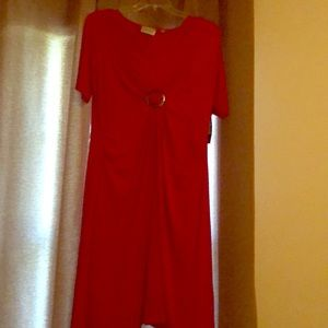 Red Avenue dress.